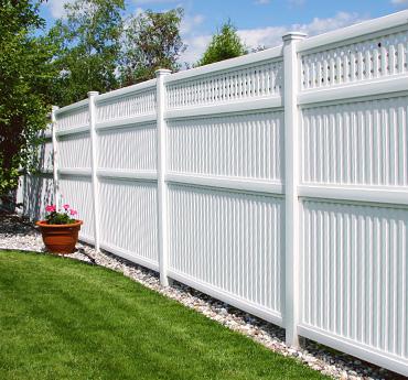 Rampe et clôture de PVC – Accessoires de jardin & Produits connexes ...